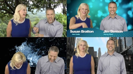 Suz And Jim Bloopers Video