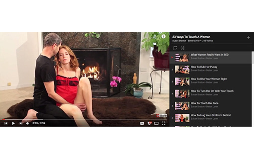 Watch! How To Touch A Woman (33 Videos)
