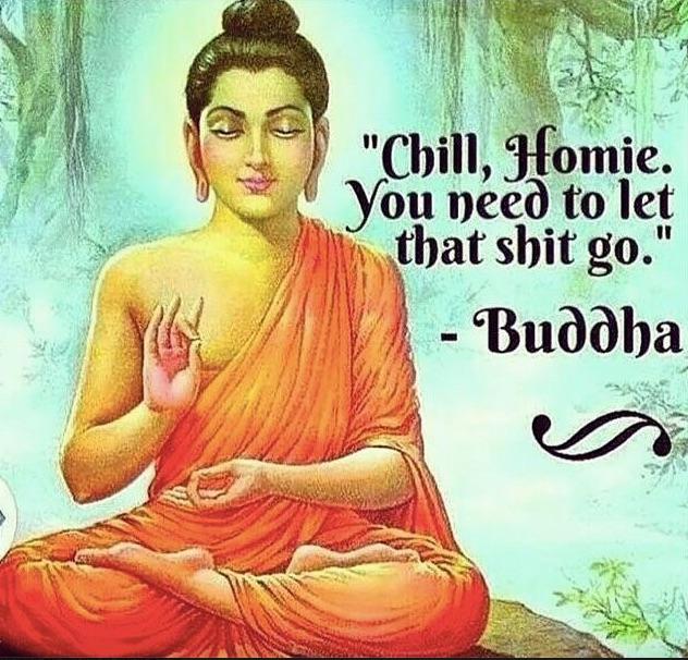 buddha - letting go