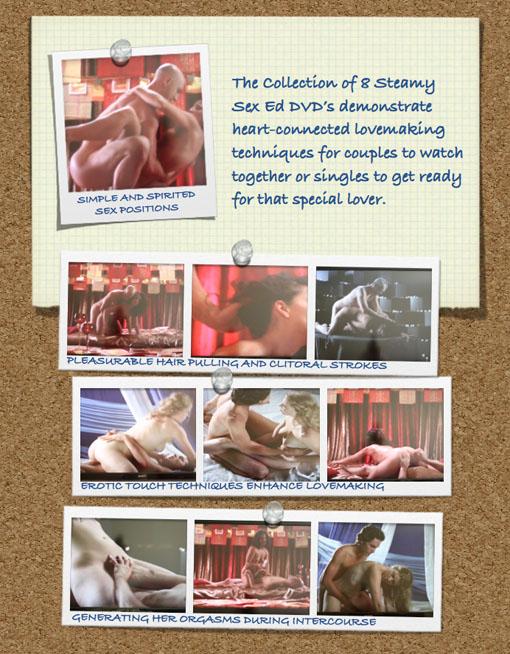 STEAMY lovemaking montage