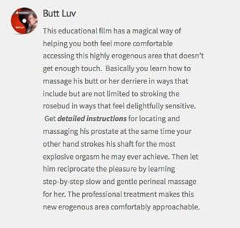 butt luv