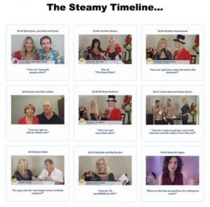 steamy timeline