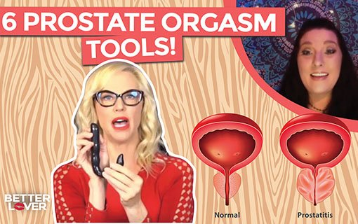 Prostate Milking, Massaging and P-Spot Vibrators