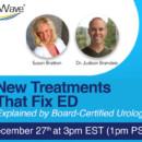New ED Treatments Event Happening Tomorrow