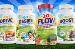 How To Take The20 Libido Supplements: FLOW, BOOST, DESIRE and DRIVE.