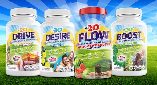 FLOW+TRIO - essential vitamins and minerals